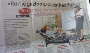 Maak tijd voor wat er echt toe doet, tips van life & business coach Sara Van Wesenbeeck in Het Laatste Nieuws
